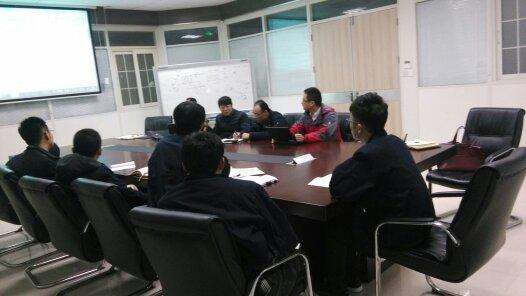 TIMKEN技术工程师与中传技术工程师技术交流